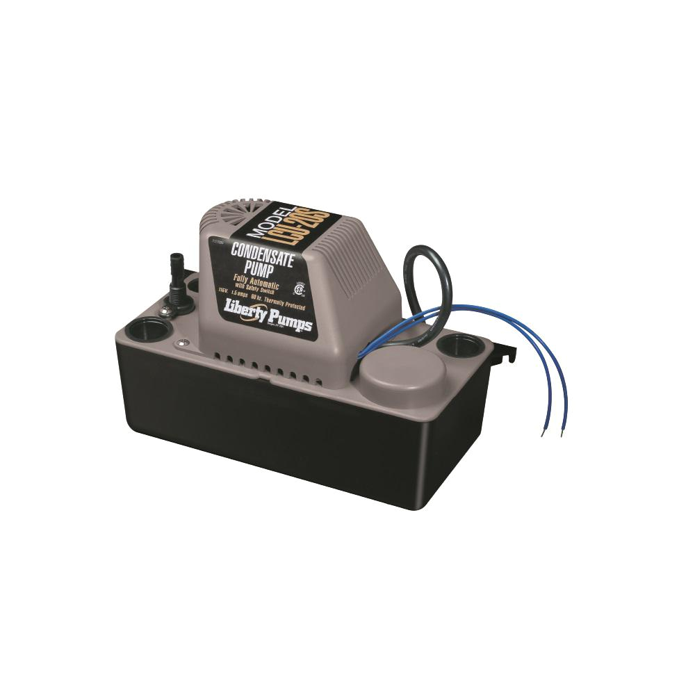 liberty pumps lcu series 115 volt condensate removal pump with safety switch