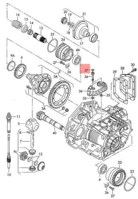 Corrado Wiring Diagram Genuine O Ring Vw Beetle Corrado Eurovan Golf R32 Gti Rabbit Jetta
