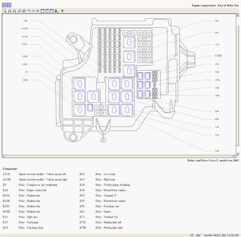 vauxhall corsa fuse box radio wiring diagrams konsult opel corsa c radio wiring diagram fuse diagram