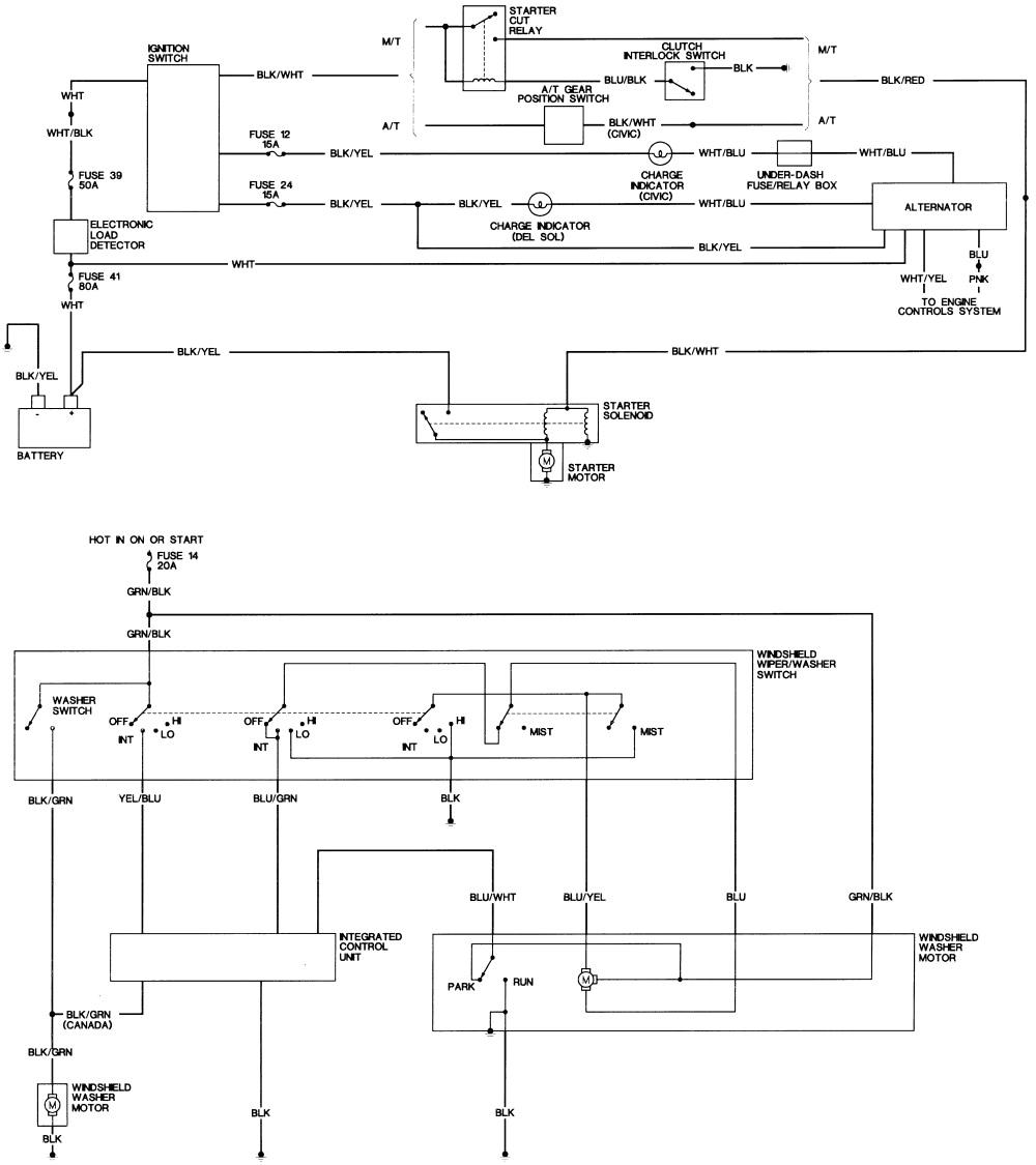 Crx Wiring Diagram Wiring Diagram 94 Honda Civic Wiring Diagrams