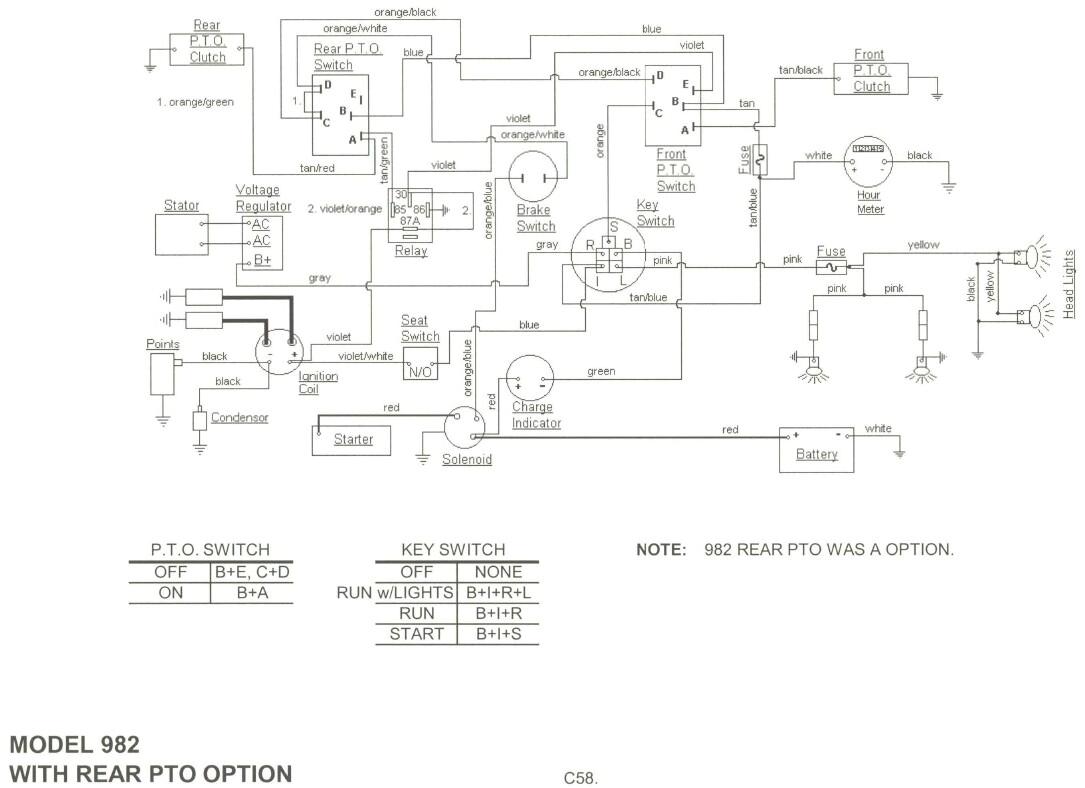 cub cadet faq cub cadet 1000 wiring diagram