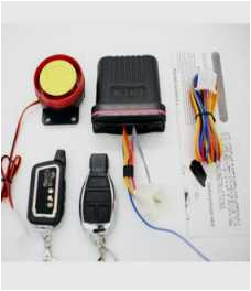 datatool s4 red wiring diagram motorbike siren alarm motorcycle security system scooter alarm with dual remote
