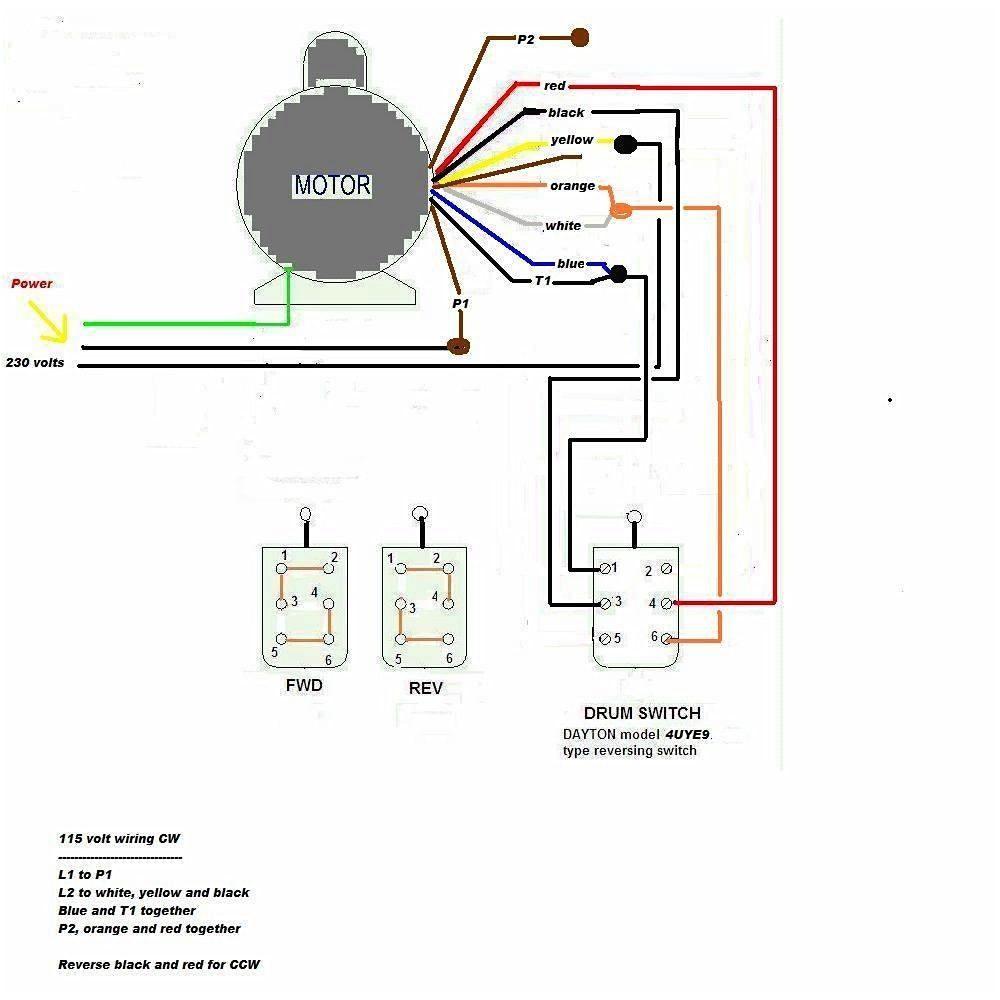 Dayton Motor Wiring Diagram 4 Wire Electric Motor Wiring Diagram Wiring Diagram