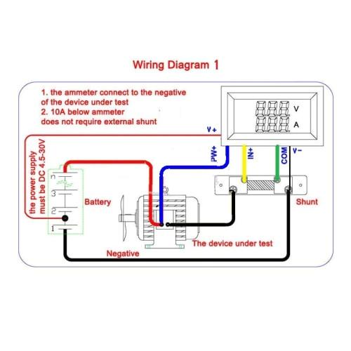 digital volt ammeter wiring online wiring diagramdc ammeter wiring diagram basic electronics wiring diagram digital volt