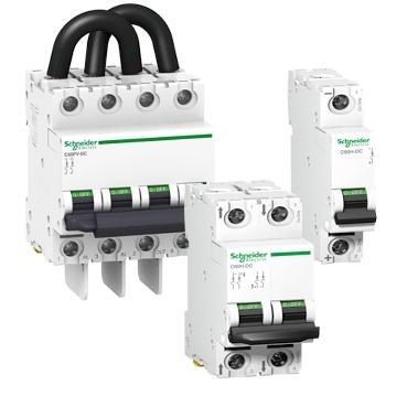 acti 9 c60h dc c60pv dc miniature circuit breakers