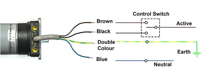 4 wire dc motor diagram