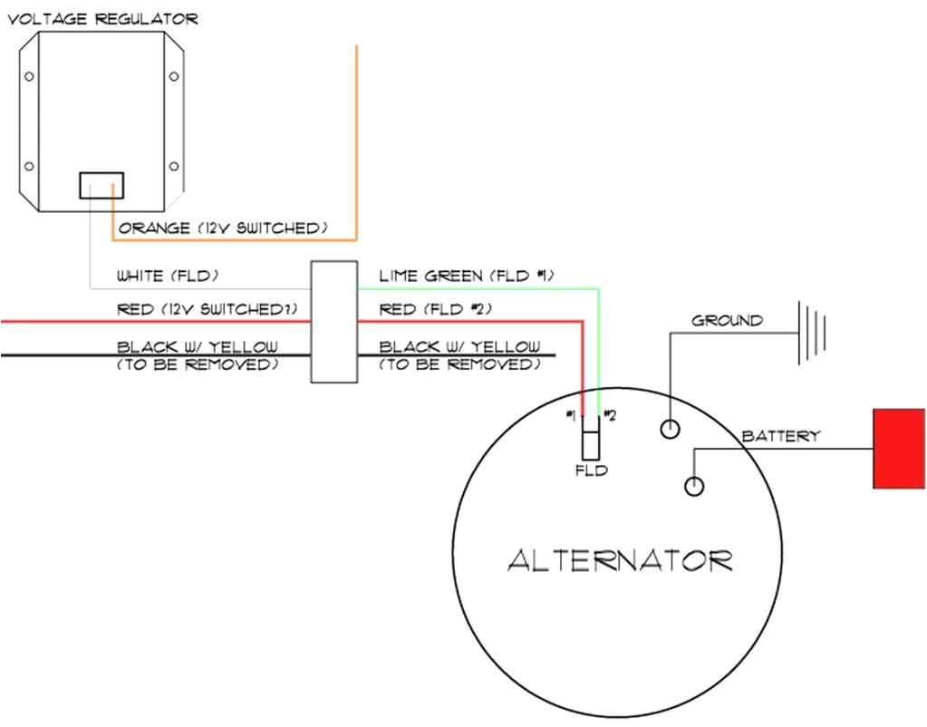 Delco Remy Alternator Wiring Diagram 4 Wire Delco 11si Alternator Wiring Diagram Wiring Diagrams Bib