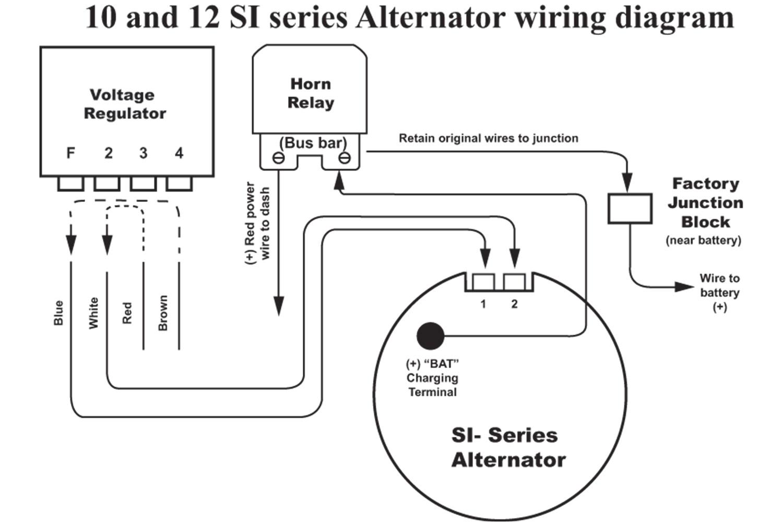 delco remy 10si alternator wiring diagram wiring diagram listwiring diagrams furthermore 3 wire delco remy alternator