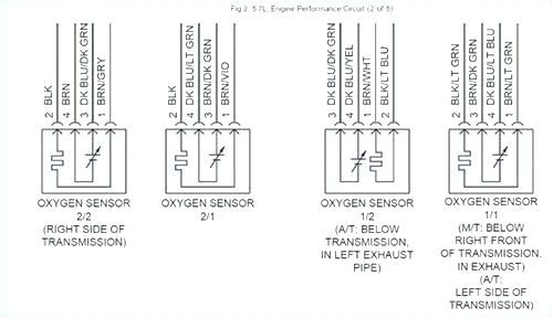 4 wire o2 sensor diagram wiring diagram paper