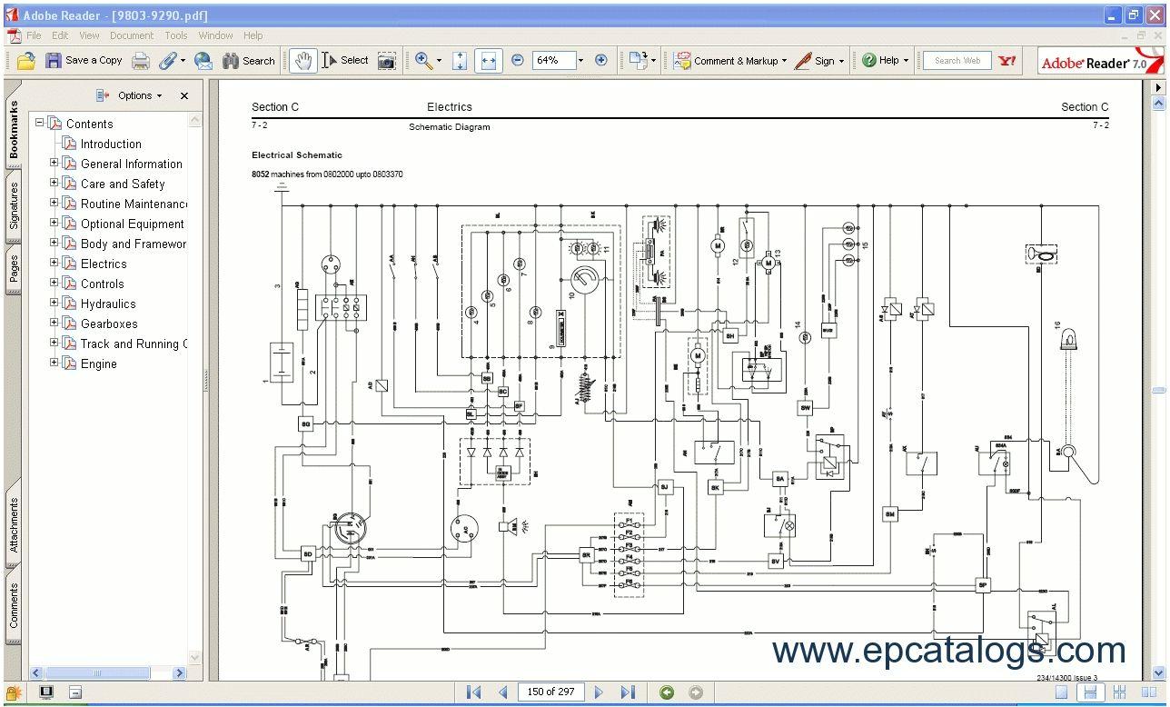 jcb 3dx electrical wiring diagram wiringdiagram org