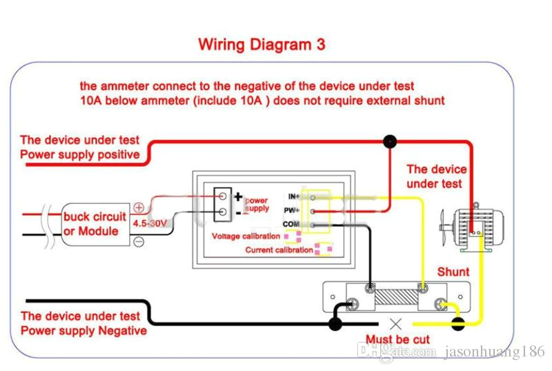 Digital Volt Amp Meter Wiring Diagram Volt Amp Meter Wiring Diagram for Led Wiring Diagram Ebook