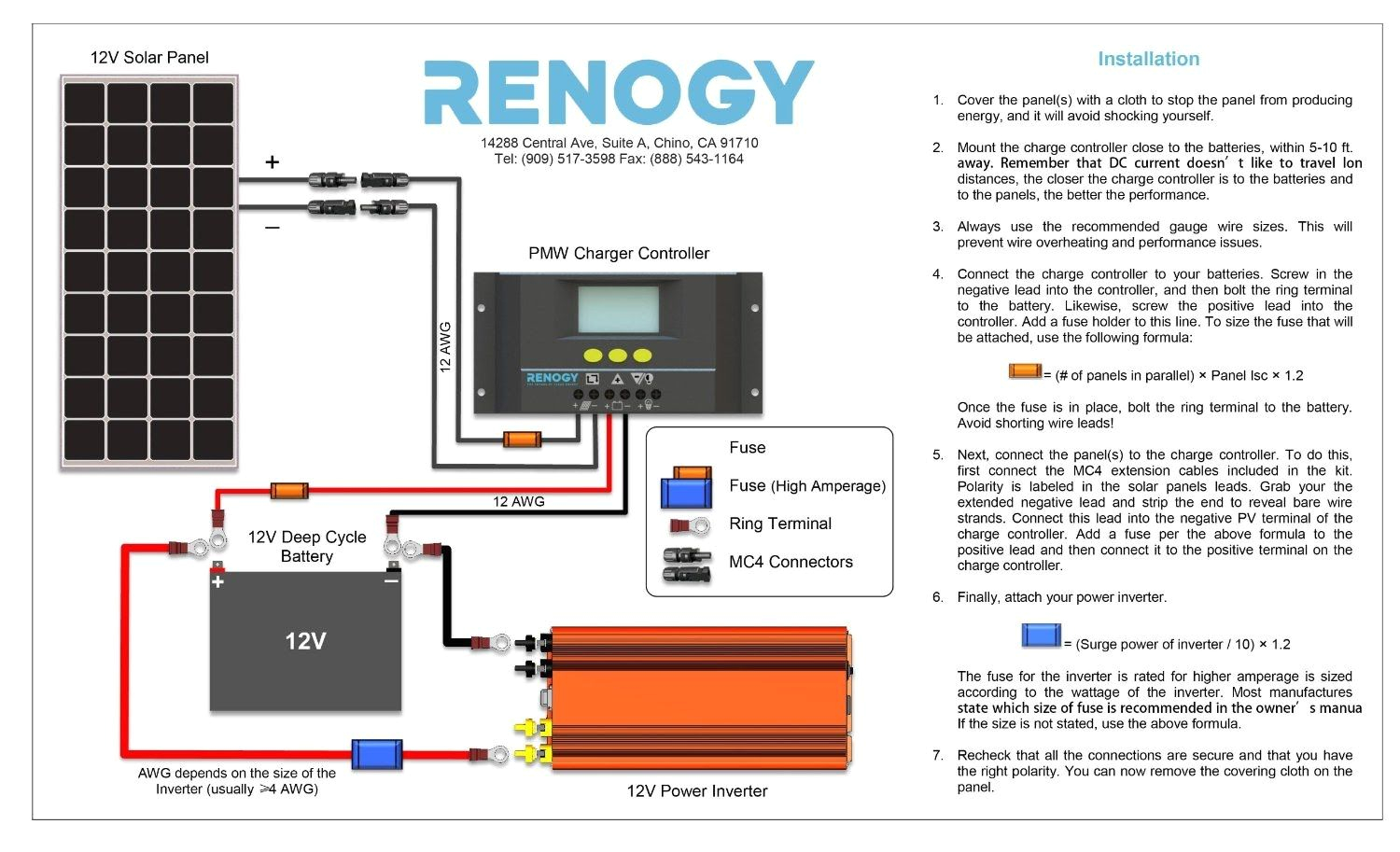 diy solar panel system wiring diagram volovets info