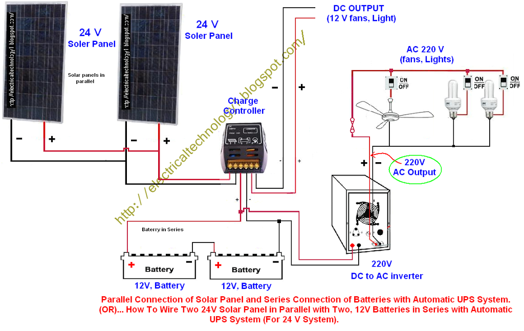 how to wire two 24v solar panels in parallel with two 12v batteries multiple solar panel wiring diagram two solar panel wiring diagram