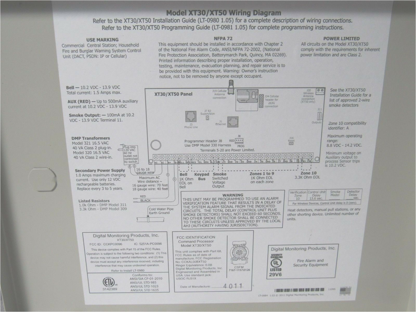 dmp xt50dns g panel with dialer and network communication options for sale online ebay