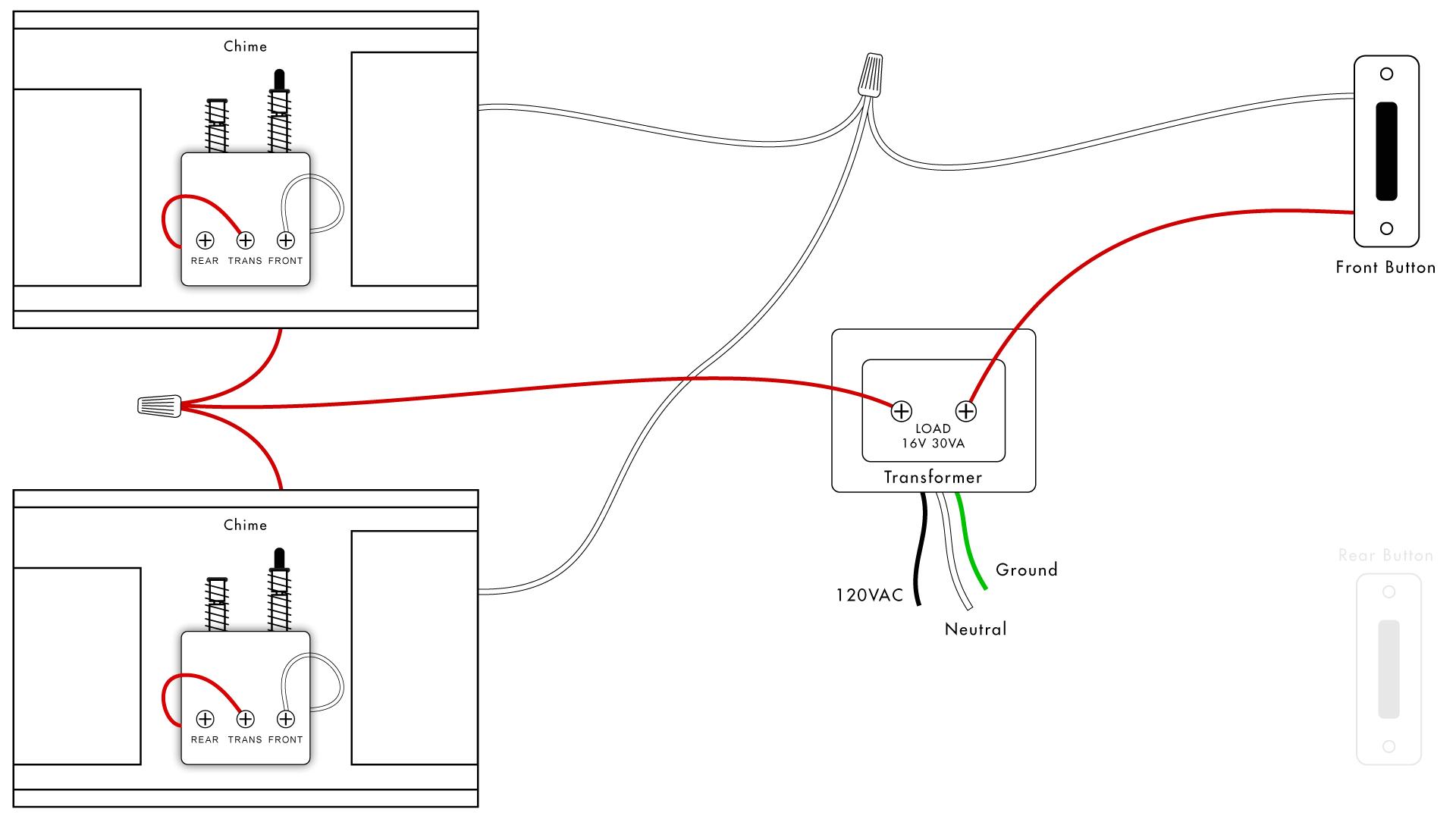 doorbell wiring diagrams diy house help second doorbell transformer wiring also doorbell transformer wiring