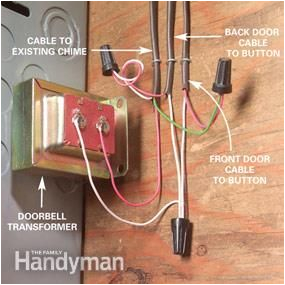 adding a second doorbell chime home safety and ideas doorbell second doorbell transformer wiring also doorbell transformer wiring