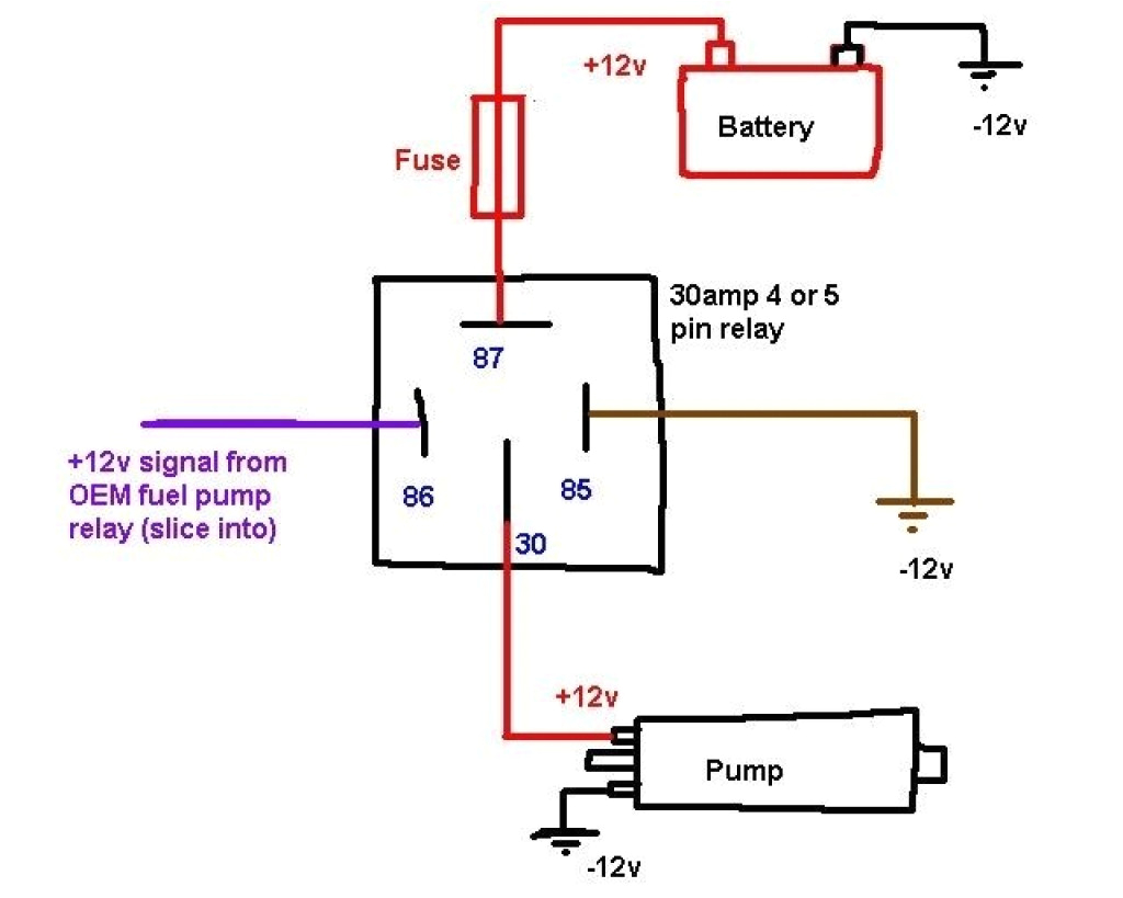 relay wiring instructions my wiring diagram