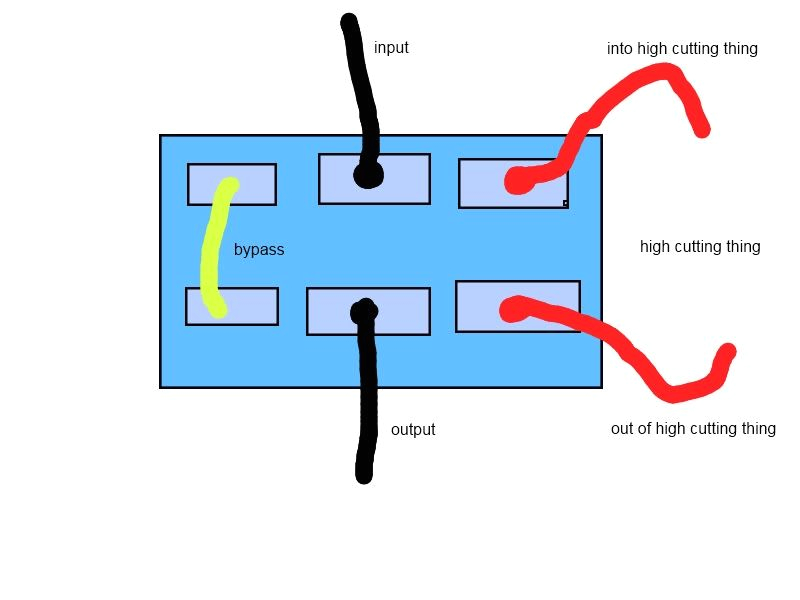 Dpdt Switch Wiring Diagram Wiring Clean Od Dpdt toggle the Amp Garage