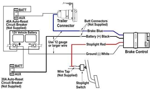 tekonsha voyager trailer brake controller 1 to 4 axles draw tite brake controller troubleshooting diagram tekonsha