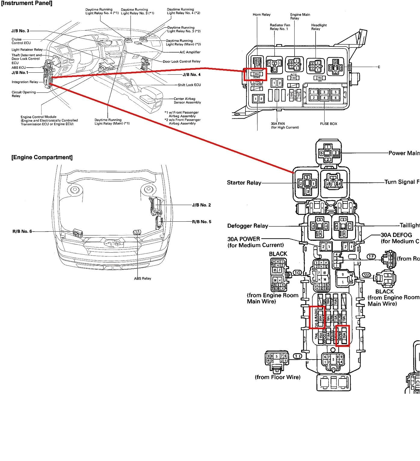 toyota corolla wiring diagram free picture