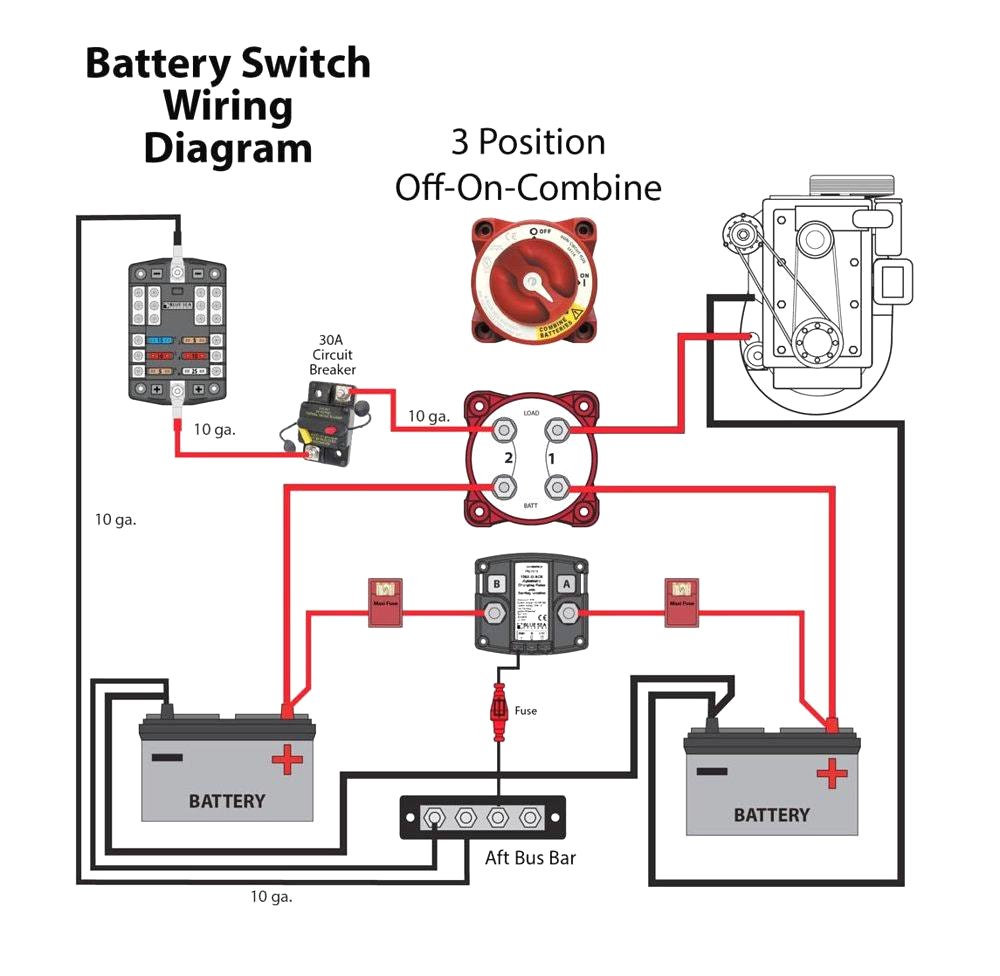marine battery switch wiring diagram schema diagram databasesingle marine battery switch wiring diagram wiring diagram sheet