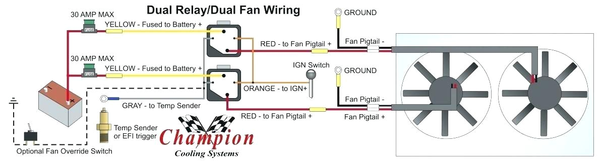omron relay wiring diagram ideas relay wiring diagram for how to properly wire electric cooling fans