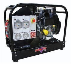 p dunlite diesel 6 8kva mine spec generator powered by yanmar 2