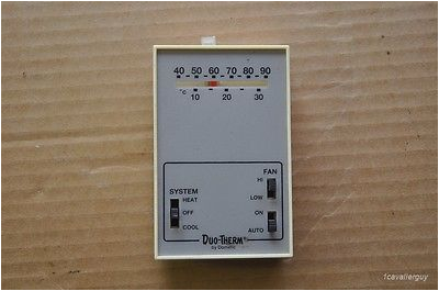 Duo therm 3105058 Wiring Diagram Used Dometic 3105058 Duotherm Heat Cool Furnace A C thermostat