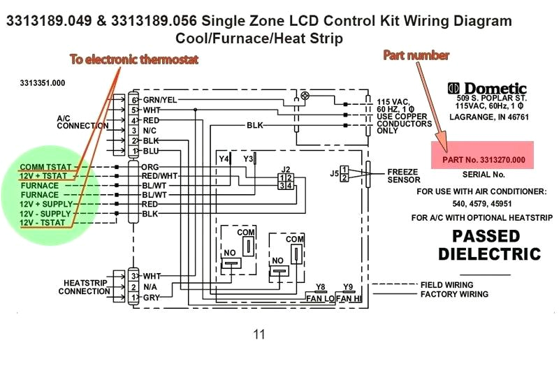 Duo therm thermostat Wiring Diagram Duo therm thermostat Wiring Diagram for Air Conditioner with org Ac