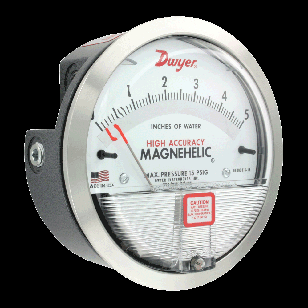 series 2000 magnehelica differential pressure gages