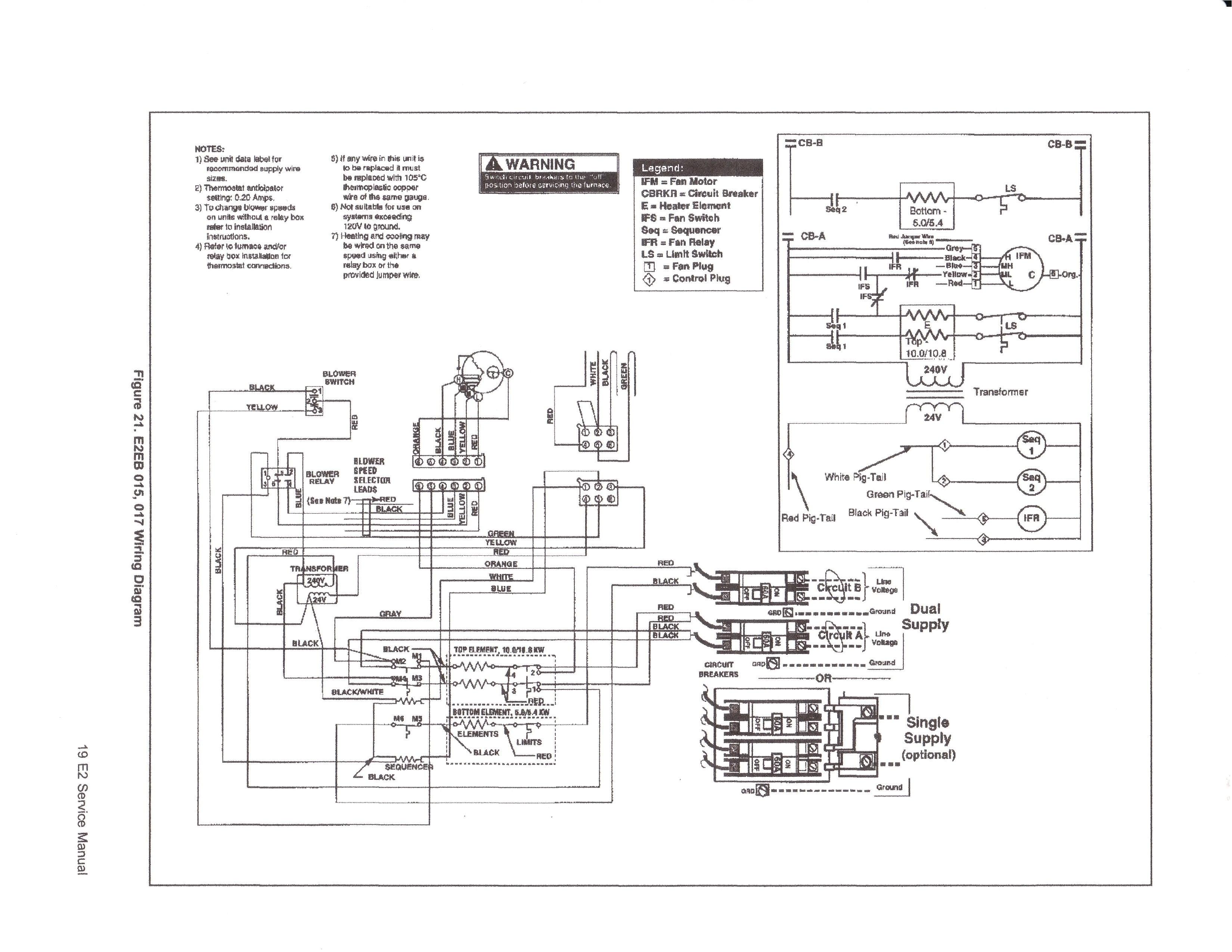 E2eb 017ha Wiring Diagram nordyne Electric Furnace Wiring Diagram Wiring Diagram Database