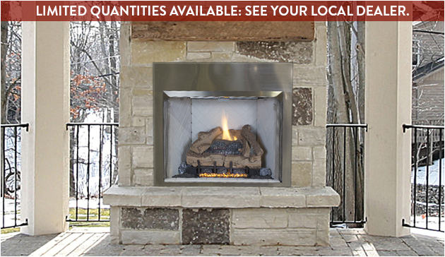 valiant od outdoor fireplace