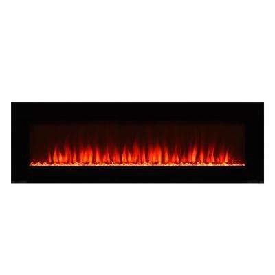 premium 42 in wall mount electric fireplace