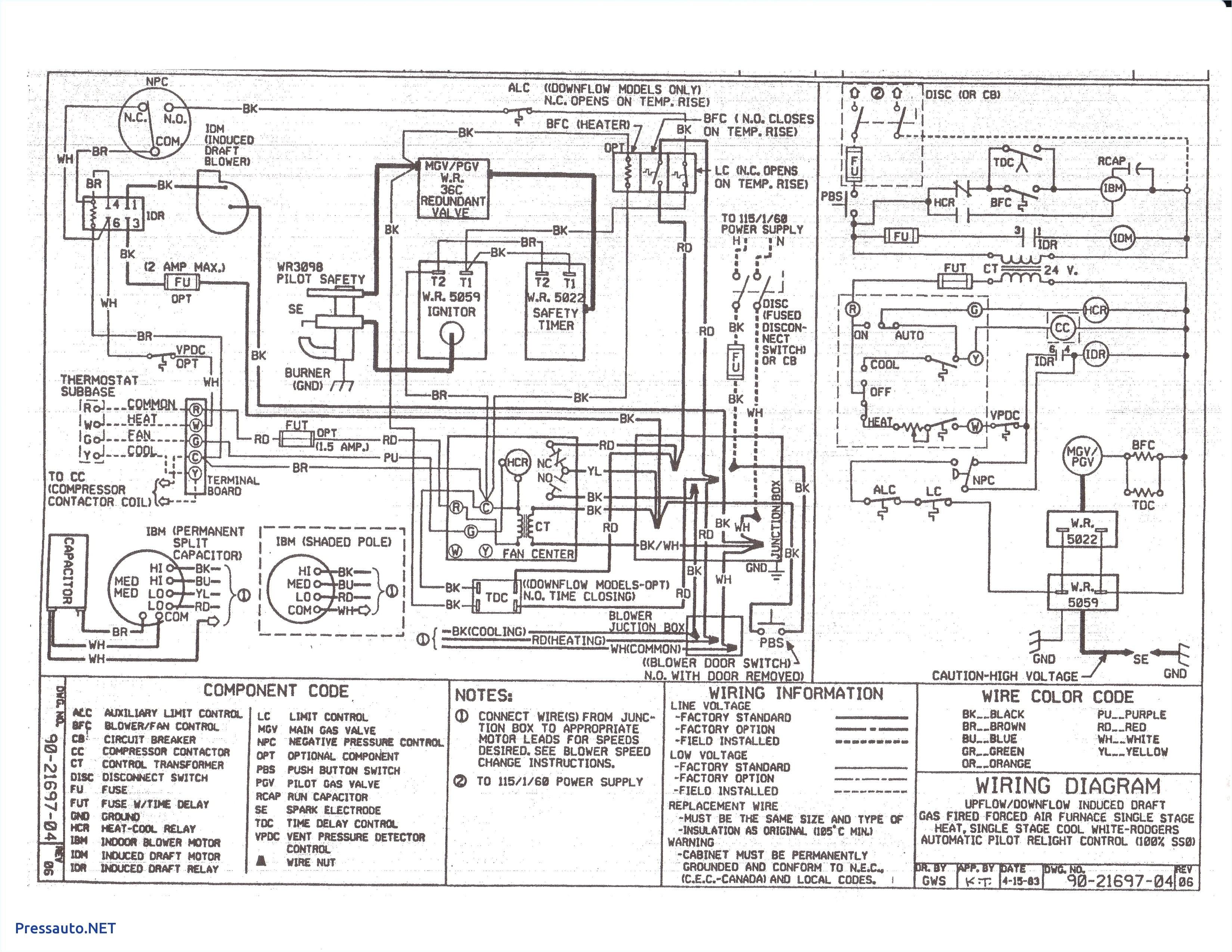 Electric Furnace Wiring Diagram Trane Electric Furnace Wiring Diagram Wiring Diagram Inside