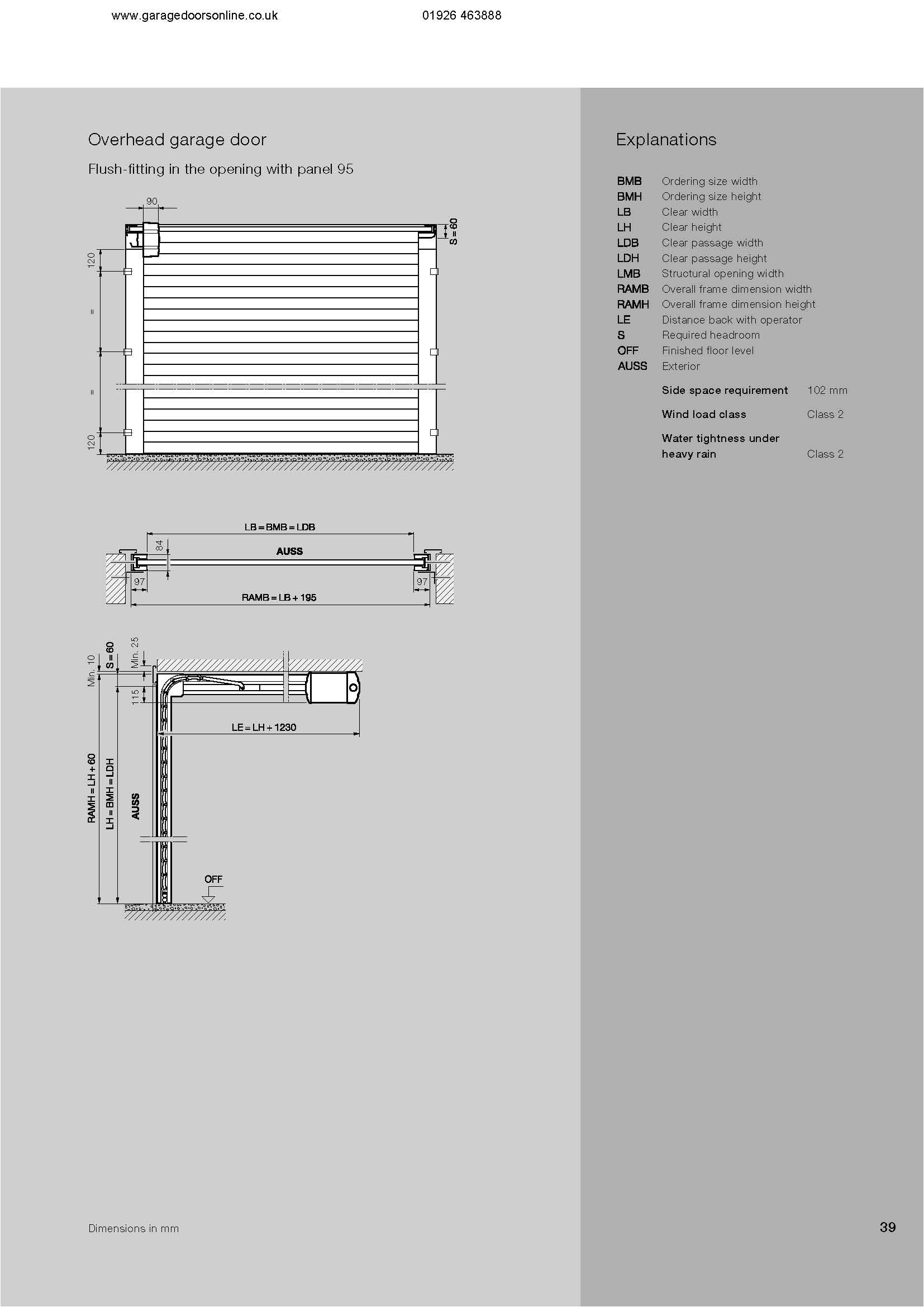safe operating and maintenance of hormann garage doors pdf
