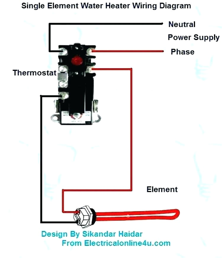 immersion heater wiring diagram electric water heater element new electric water heater thermostat wiring diagram how