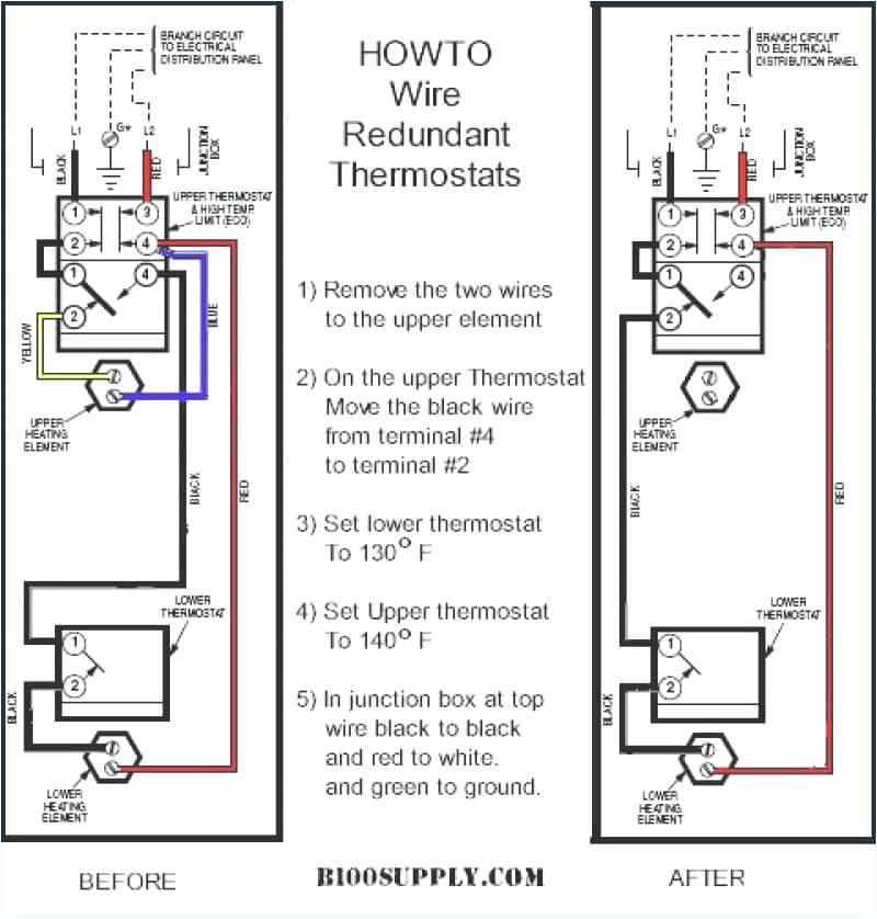 electric hot water tank thermostat wiring wiring diagram can