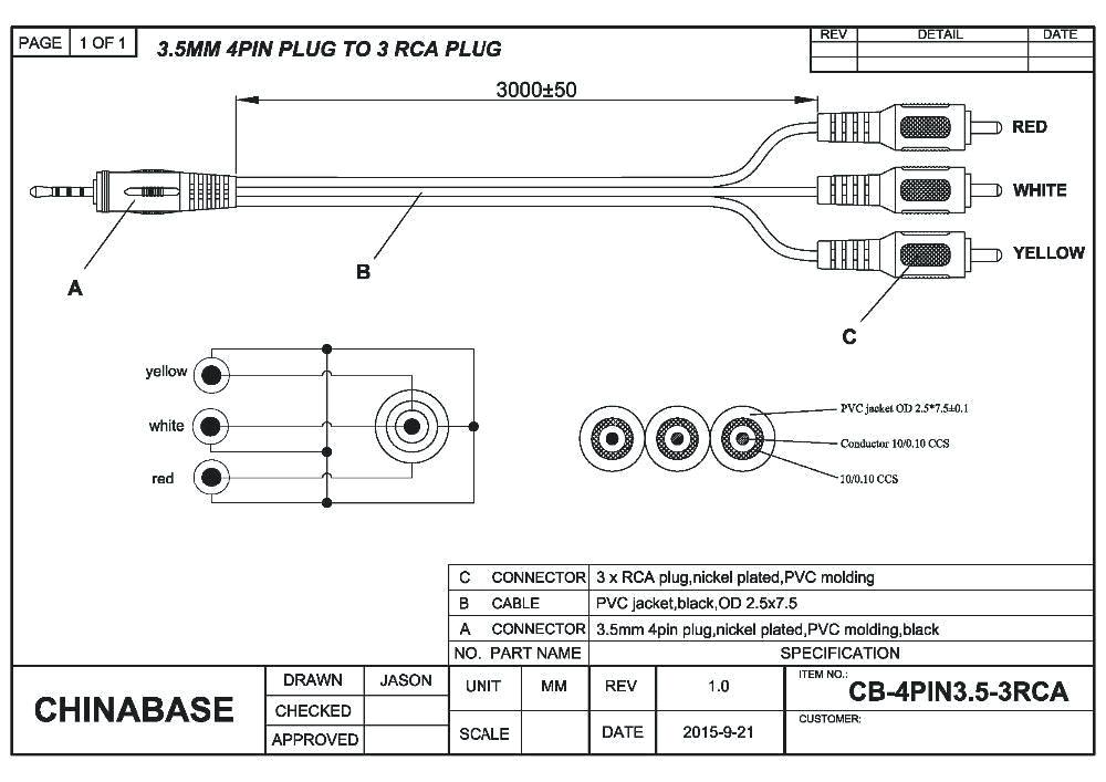av cable wiring diagram wiring diagram av plug wiring diagram av cable wiring diagram