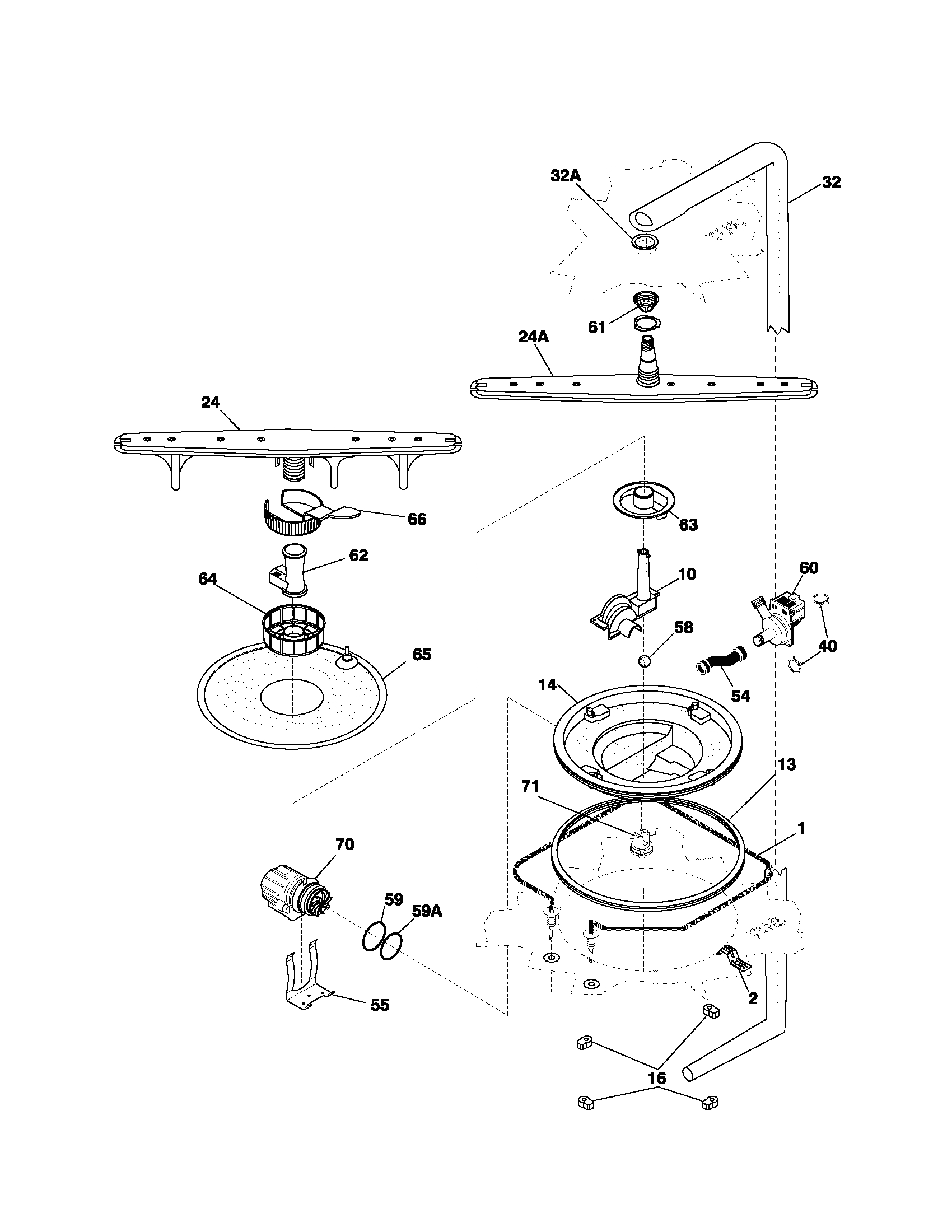 electrolux schematics frigidaire pldb999cc0 timer stove clocks and appliance timerspldb999cc0 dishwasher motor u0026 pump parts diagram
