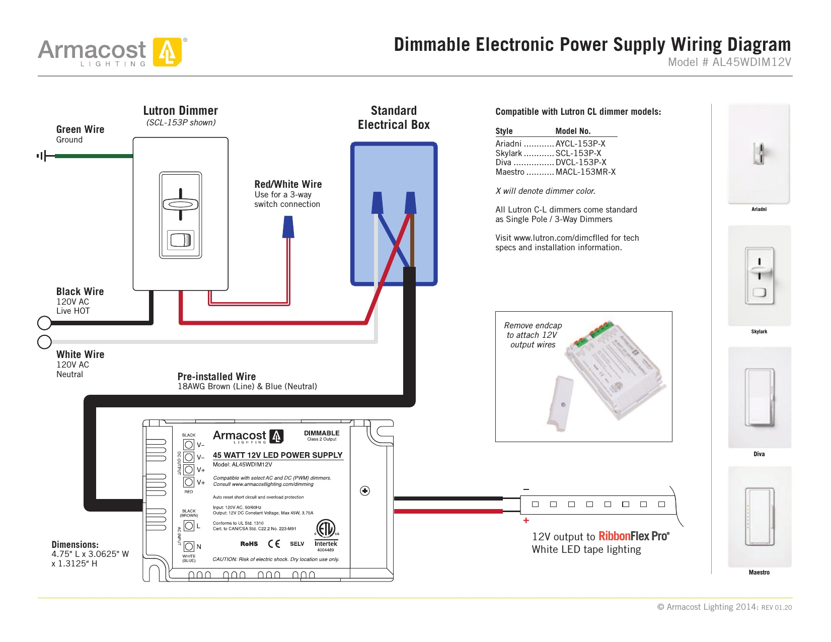 lutron 3 way dimmer wiring diagram lovely maestro discrd of 8