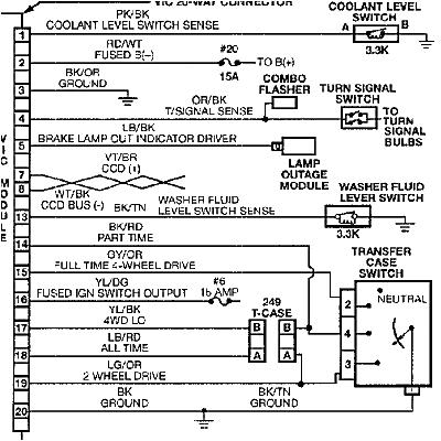 testing the coolant sensor vic wiring chart