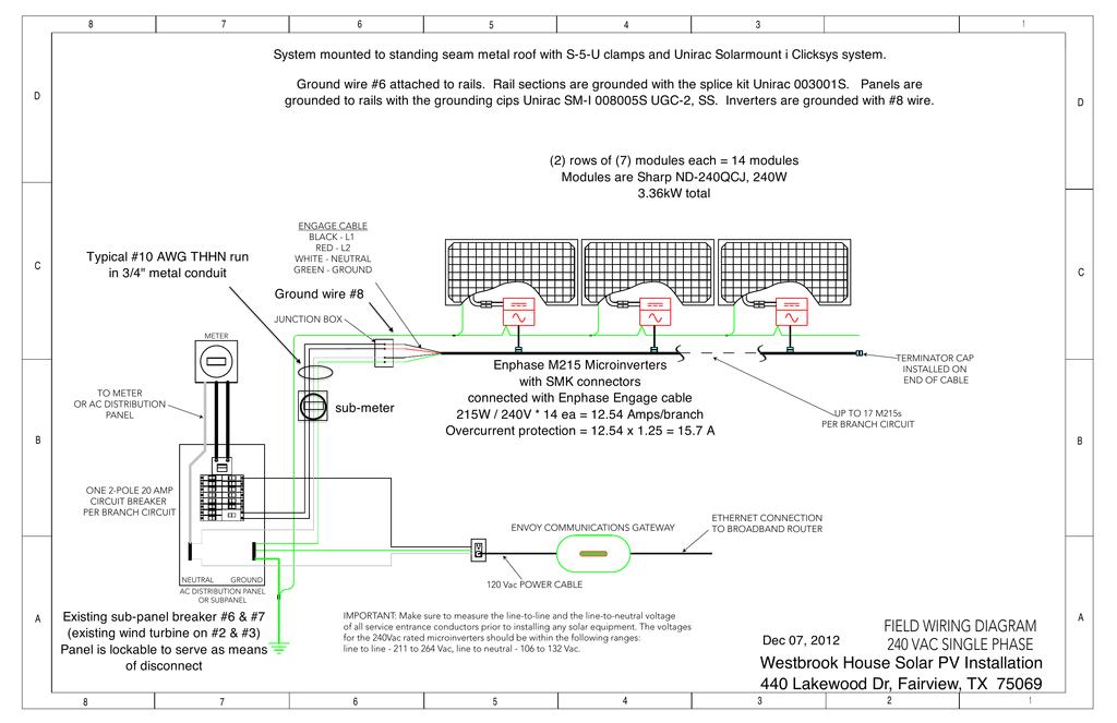 field wiring diagram 240 vac single phase westbrook