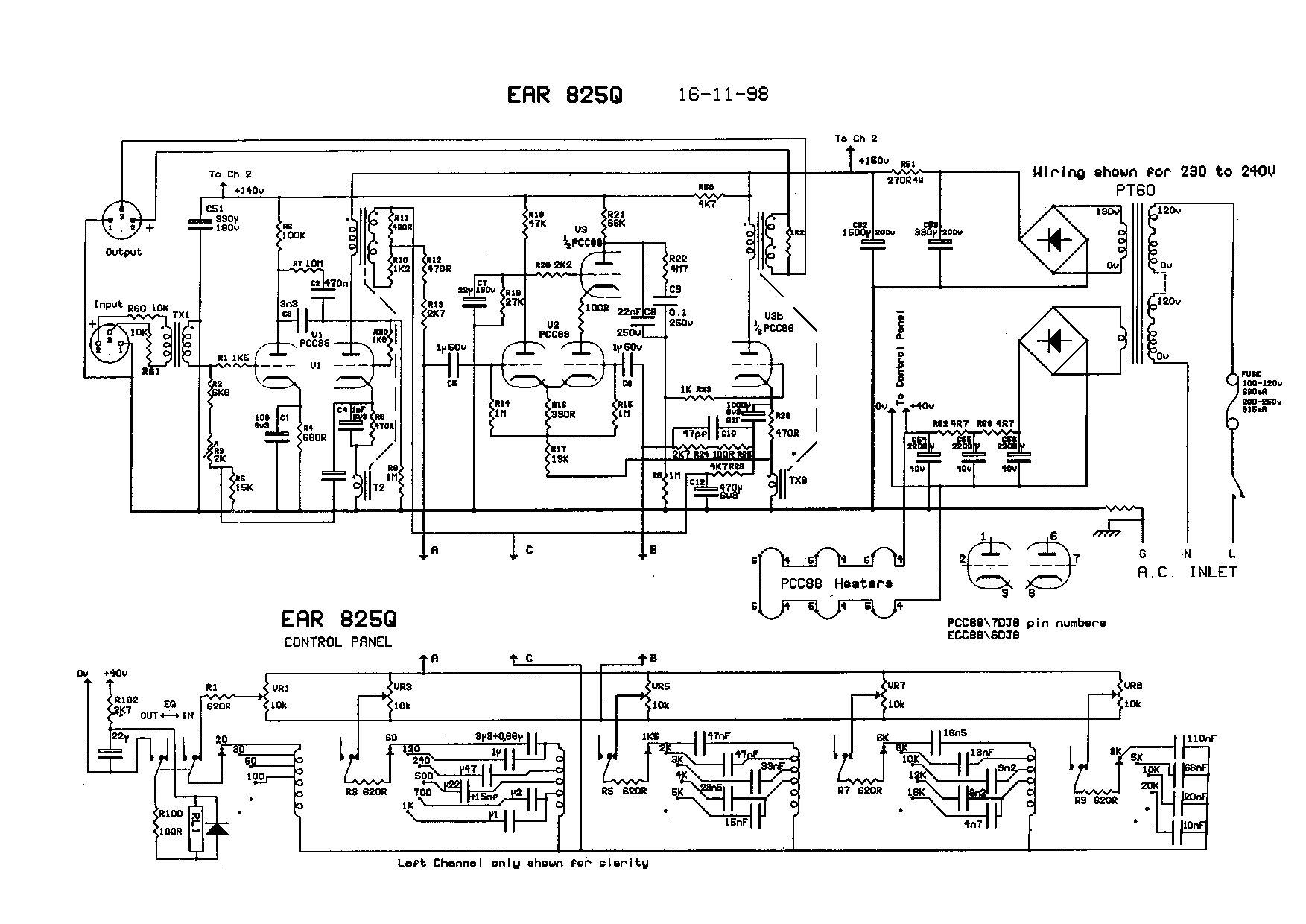 car eq wiring a index of schematics pro audio equalizers