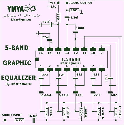 Equalizer Systems Wiring Diagram Equalizer Circuit Page 2 Audio Circuits Next Gr