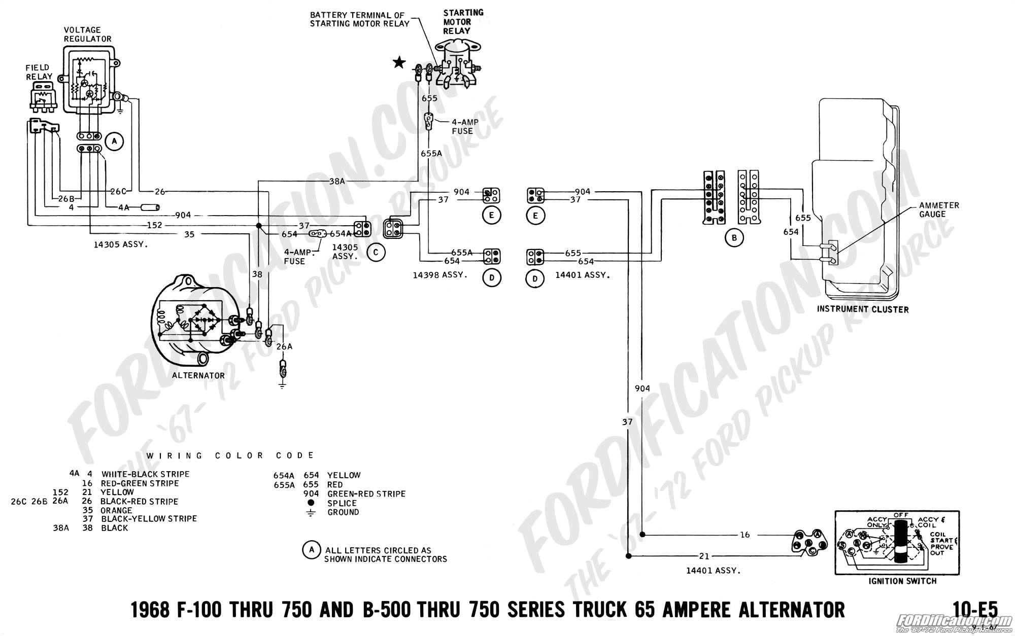 1978 ford voltage regulator wiring diagram