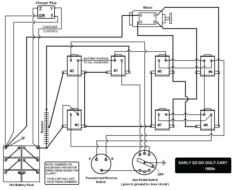 Ez Go Golf Cart Wiring Diagram Ez Go Golf Cart Schematics Wiring Diagram Fascinating