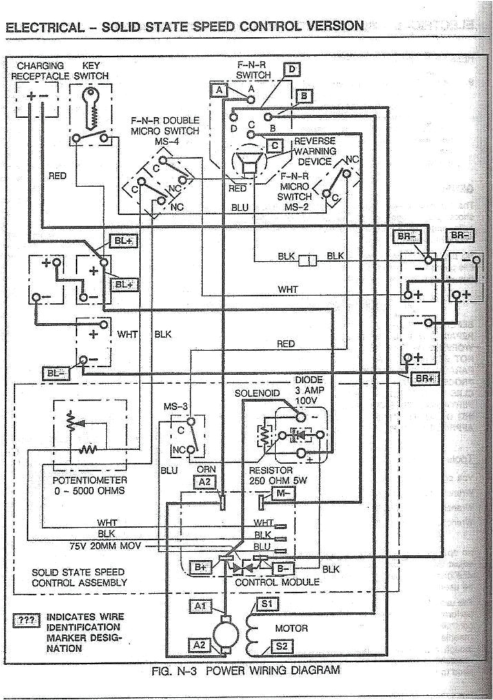 1997 ezgo wiring diagram wiring diagram split 1976 ezgo wiring diagram