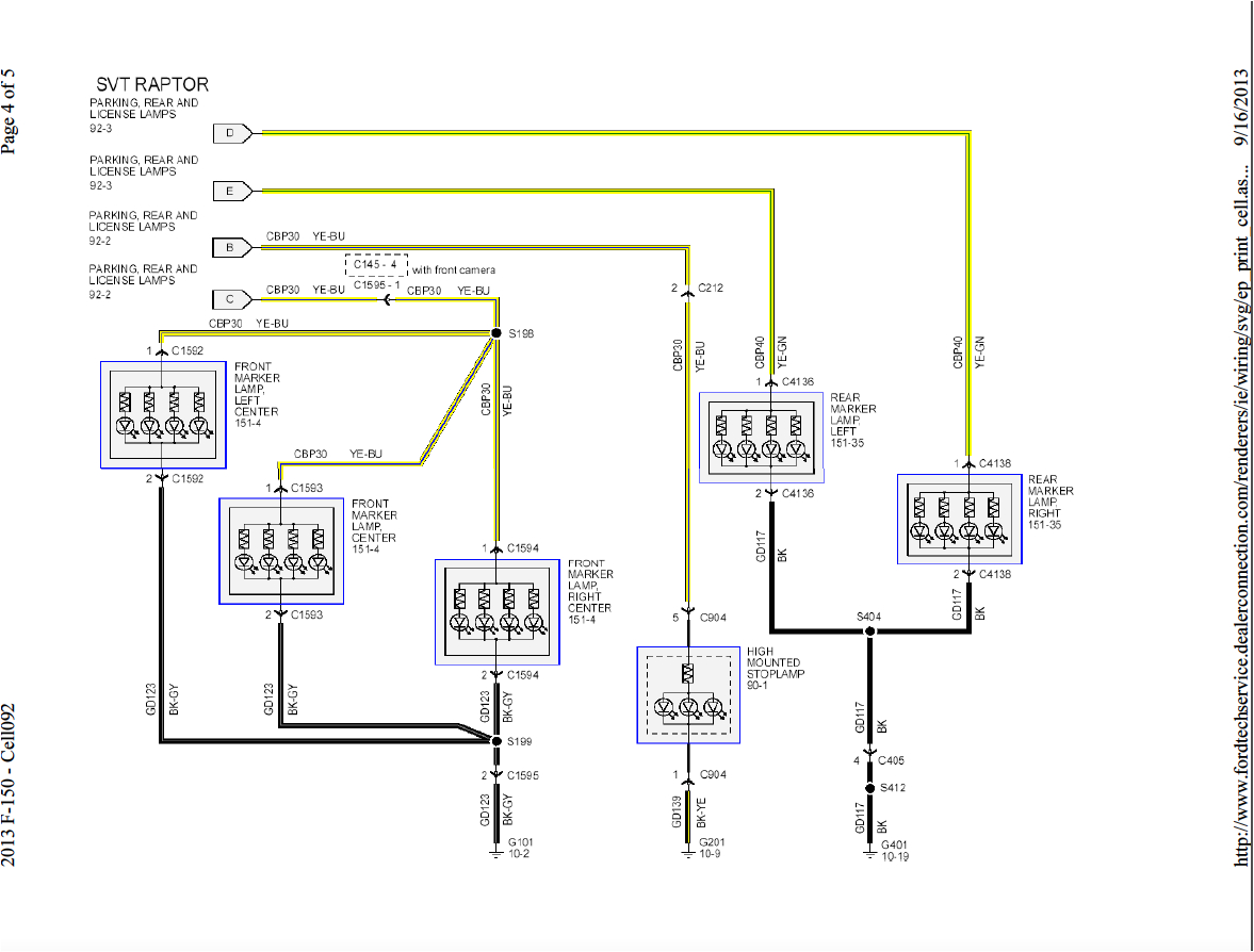 picture ford f250 wiring diagram for trailer light 2013 f150 front rear exterior lights wiring harness diagram ford rh f150forum com 2006 ford f150 tail light wiring harness ford super duty tail lig png