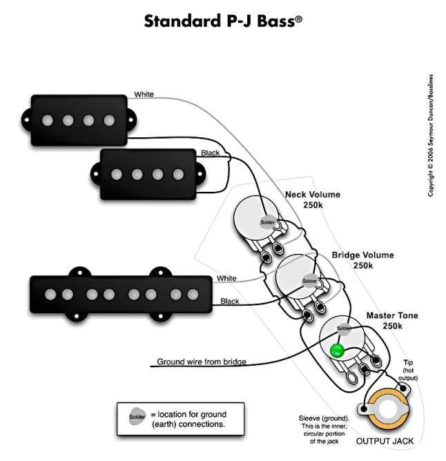 Fender Squier    Jazz    Bass    Wiring       Diagram      autocardesign