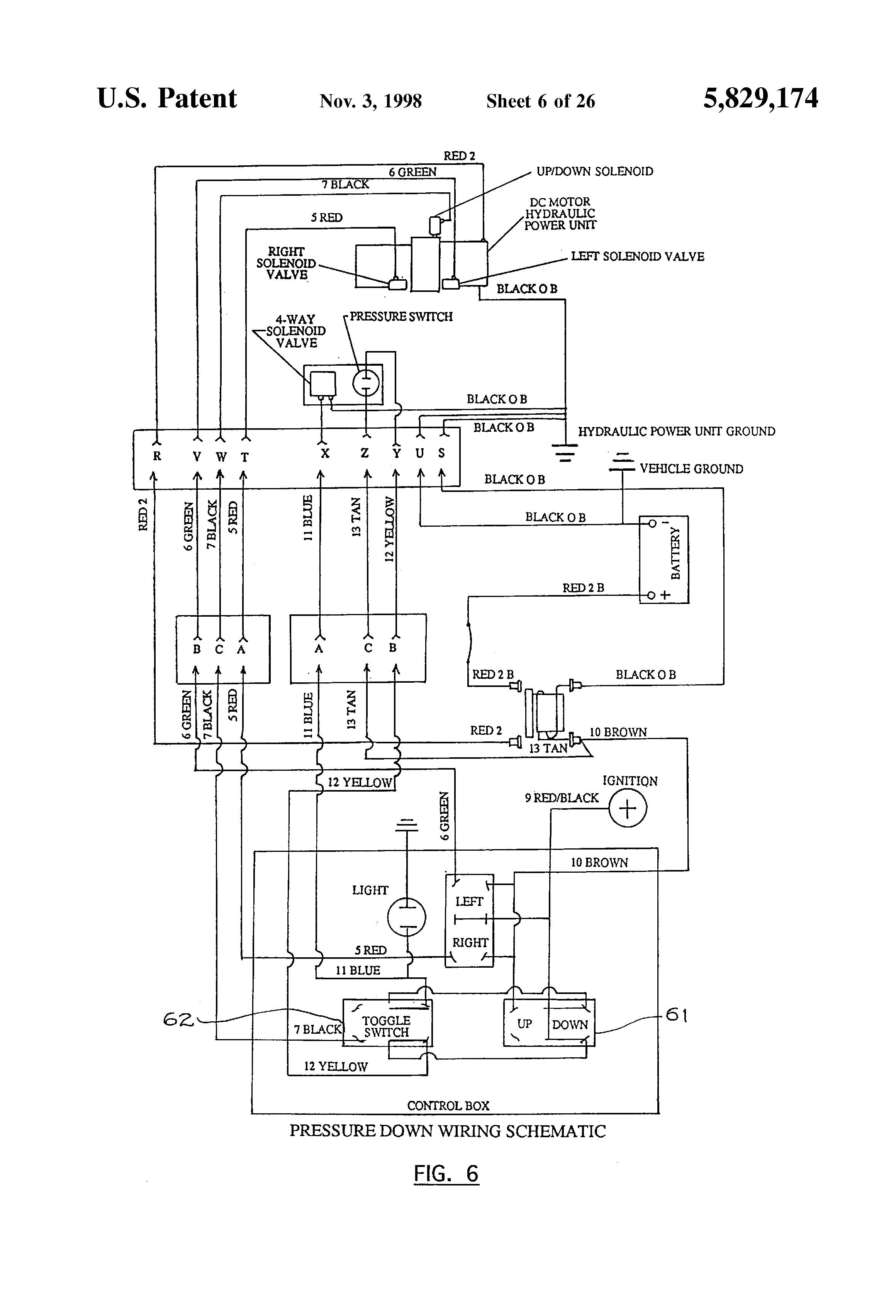 84371 western fisher hb3 hb4 4 port 3 plug wiring kit isolation yellow snow plow wiring diagram box